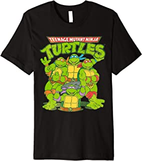 TMNT Classic Logo With All Ninja Turtles  Premium T-Shirt