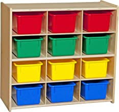 Contender Baltic 12 Cubby Storage Colorful