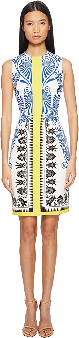 Versace Collection - Abito Donna Printed Sheath Dress