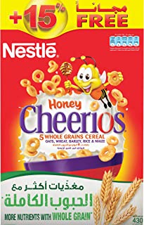 Nestle Cheerios Honey Breakfast Cereal Bonus Pack 430g