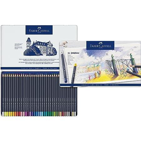 Faber-Castell Goldfaber 114748 Matite Colorate, Multicolore, 48 pezzi