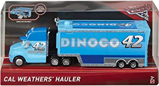 Disney Pixar Cars 3 Cal Weather's Hauler (Dinoco)