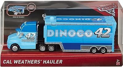 Disney Pixar Cars 3 Cal Weather's Hauler (Dinoco)
