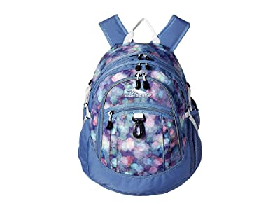 High Sierra Fatboy Backpack (Shine Blue/Lapis/White) Backpack Bags