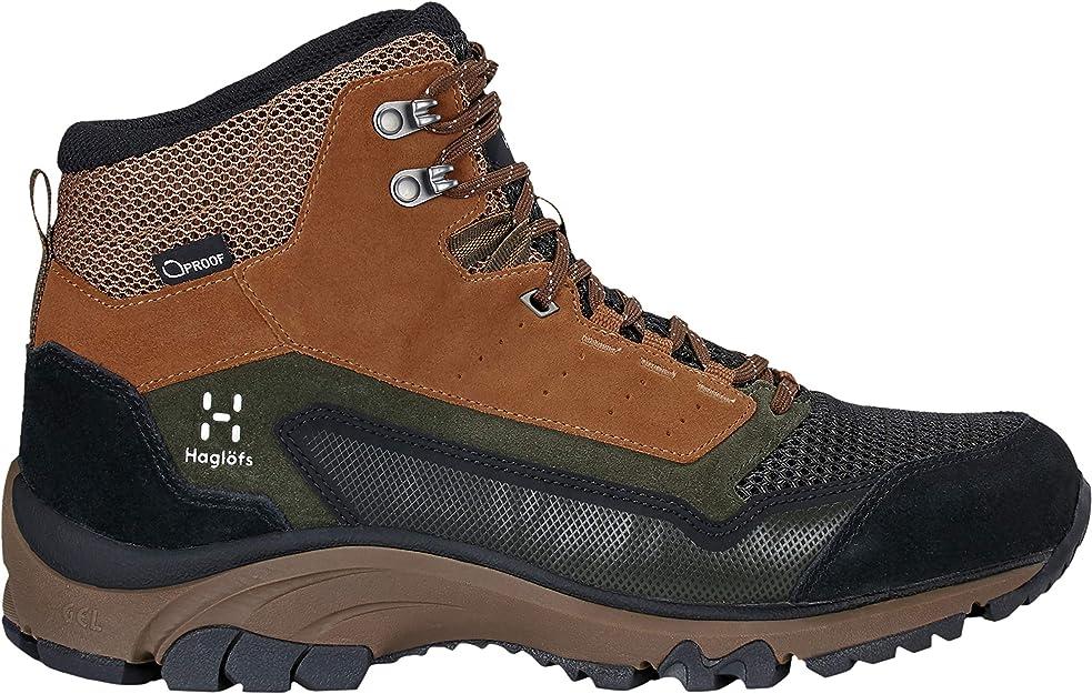 Abriebfest Hagl/öfs Wanderschuhe Frauen Trekking /& Wanderschuhe Ridge Leather D/ämpfend Griffig