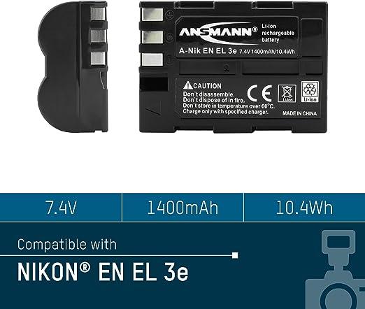 Ansmann Li Ion Nikon En El 10 Equivalent Replacement Camera Photo