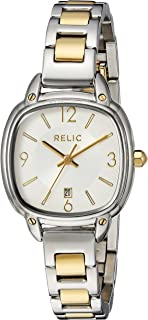 Relic by Fossil Women's Corinne Quartz Two-Tone Stainless Steel Casual Watch, Color: Silver, Gold (Model: ZR34244)