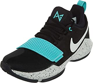 4e2f992097fa Nike Men s PG 1 Black Aqua Basketball Shoes ...