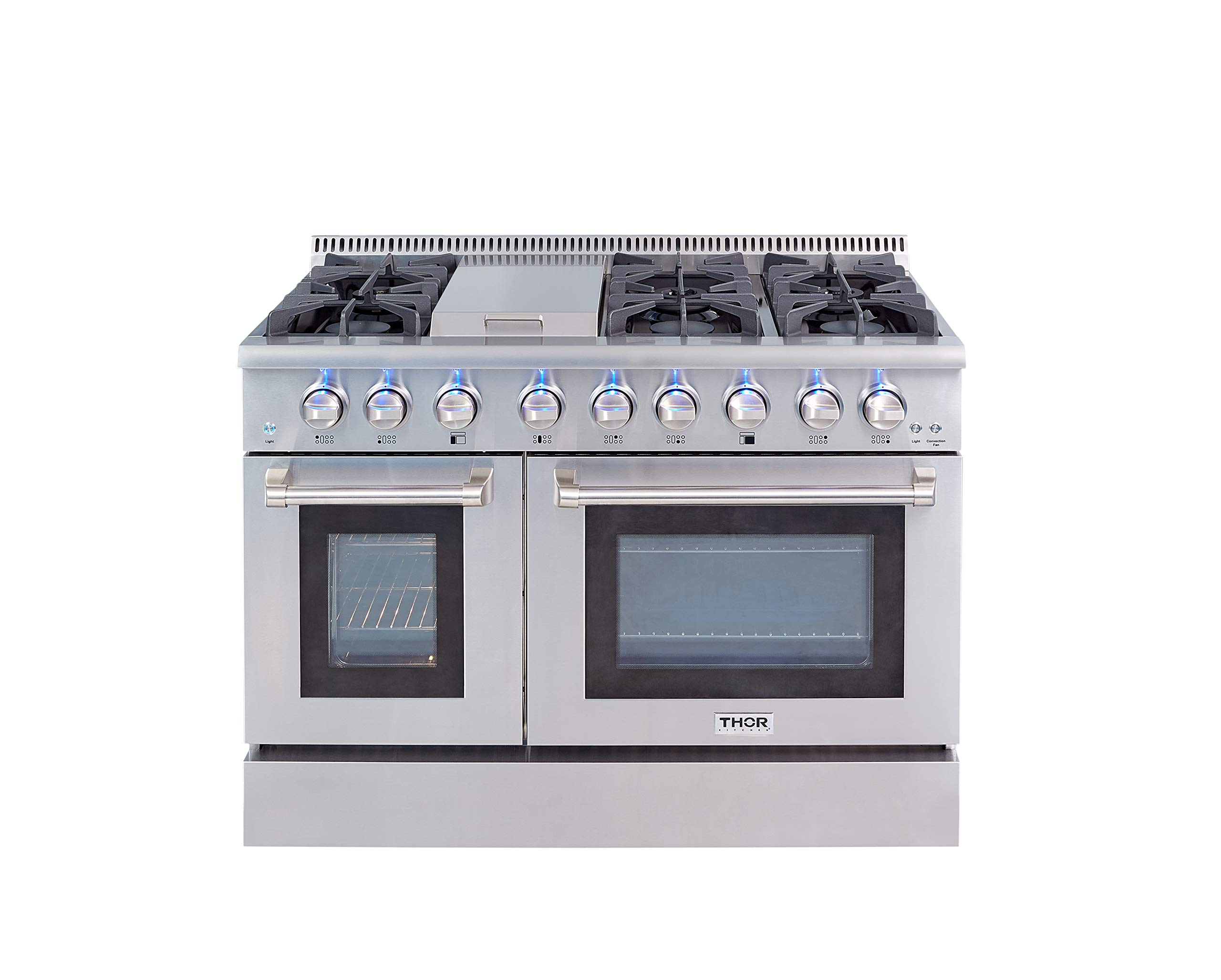 Thor Kitchen Burners Double Stainless