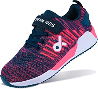 Little/Big Kids Shoes Lightweight Breathable Athletic Boys Girls Sneakers for Running Tennis Outdoor Sports