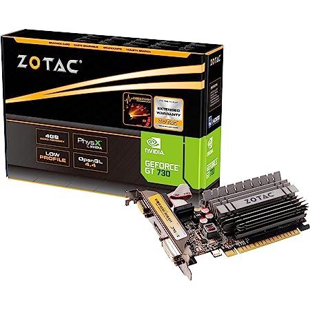 ZOTAC GeForce GT 730 Zone Edition 4GB DDR3 PCI Express 2.0 x16 (x8 lanes) Graphics Card (ZT-71115-20L)