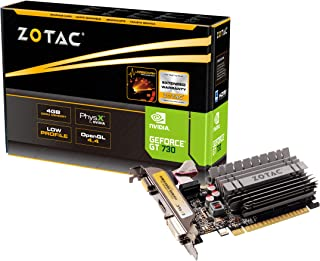 ZOTAC GeForce GT 730 Zone Edition 4GB DDR3 PCI Express 2.0 x16 (x8 مسامير) بطاقة رسومات (ZT-71115-20L)