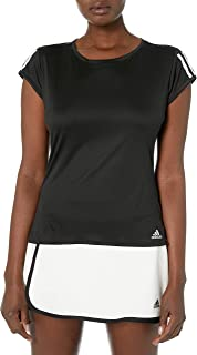 adidas Originals Club 3 Str Tee, Black/Matte Silver/White, Medium