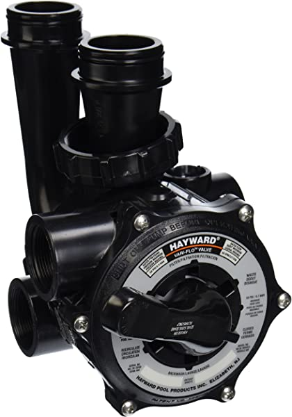 Hayward SP0710X62 Pro Series Vari Flo Replacement 1 1 2 Inch Control Valve Assembly With Gauge