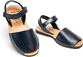 Avarca dark blue sandals for toddler boys little kid' from Spain - Casual Children shoes