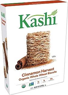 Kashi Organic Cinnamon Harvest Breakfast Cereal - Vegan   16.3 Oz Box