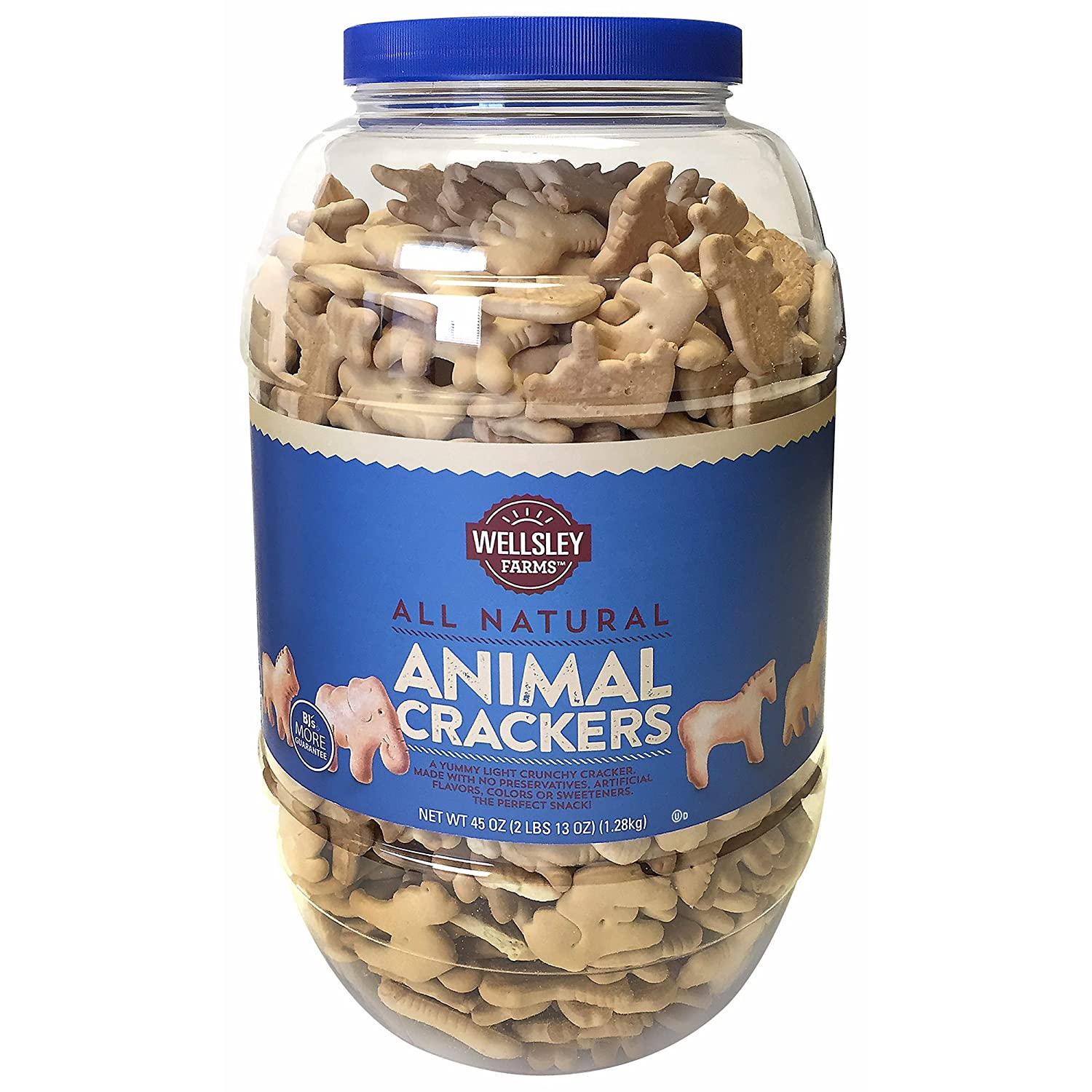 Wellsley Farms Animal Directly managed store Crackers Max 49% OFF 45 oz.