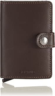 Secrid Miniwallet - Dark Brown Leather
