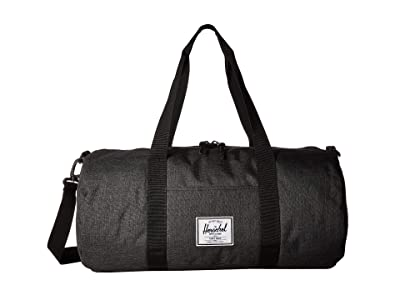 Herschel Supply Co. Sutton Mid-Volume (Black Crosshatch/Black) Duffel Bags