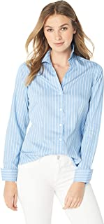 Foxcroft Women's Lauren Stripe Non Iron Shirt