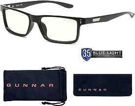 Gaming Glasses | Blue Light Blocking Glasses | Vertex /Onyx by Gunnar | 35% Blue Light Protection, 100% UV Light, Anti-Ref...