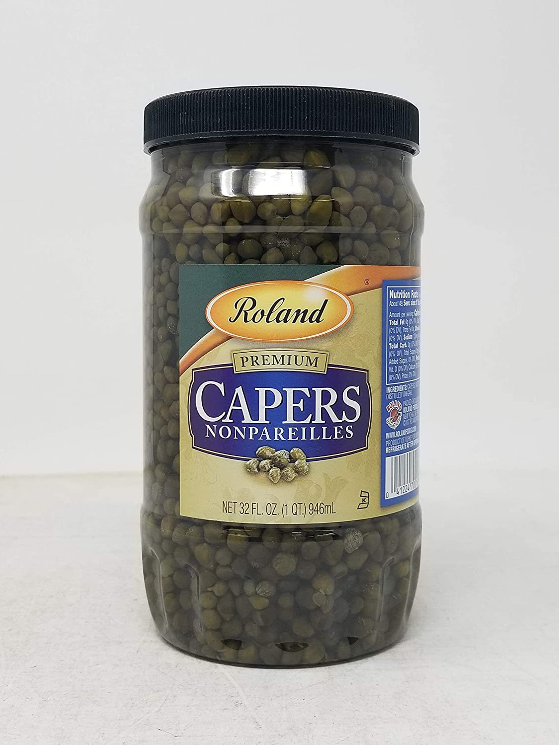 Roland: Capers Nonpareille Selling rankings Bargain 32 OZ