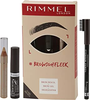 Rimmel London Brow On Fleek Dark Brown
