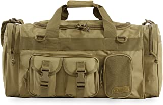 Highland Tactical Men's Ranger Tactical Duffel Bag, Green Digi Camo