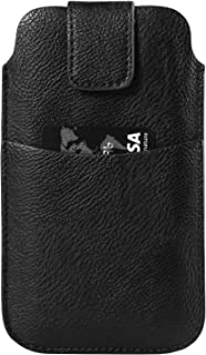 6.3 Inch PU Leather Cellphone Protective Sleeve Holster for Samsung Galaxy Note 8 / S8 Active / S8+ / S8 / Blackberry Keyone / Aurora / Huawei Honor 9 / Nova 2 Plus / P10 / P10 Plus