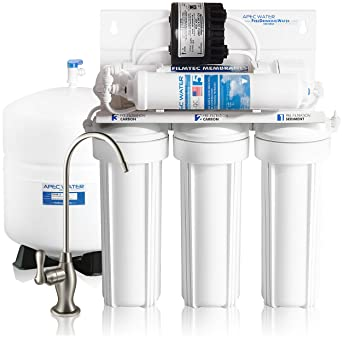 APEC Water Systems ULTIMATE RO-PERM Boosted Performance with Permeate Pump Ultra Safe Reverse Osmosis Drinking Water ...