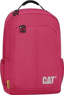 حقيبة ظهر بتصميم مربع ولون احمر كرزي من كاتربيلار