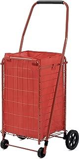 Sandusky FSC3012 Folding Shopping Cart, 66 lbs Capacity
