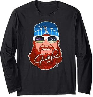 Justin Turner Big Red 2017 Long Sleeve T-Shirt - Apparel