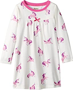 Majestic Unicorns Nightdress (Toddler/Little Kids/Big Kids)
