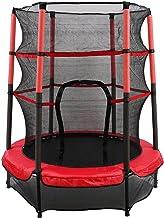 Trampoline kinderen tuintrampoline Ø 140 cm kindertrampoline met veiligheidsnet tot 50 kg belastbaar voor binnen en buiten