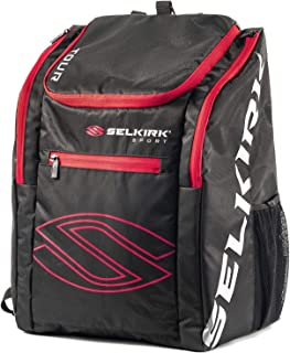 Selkirk Sport Pickleball Backpacks, Tour Bags, Day Packs, and Sackpacks (Tour Backpack Red)