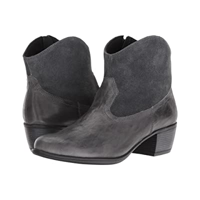 Munro Laramie (Grey Leather/Suede) Cowboy Boots