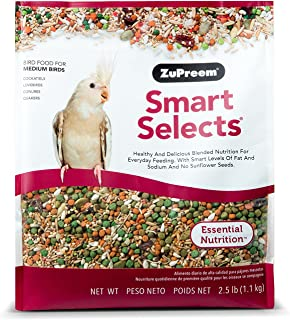 ZuPreem Smart Selects� Daily Bird Food For Cockatiels & Lovebirds