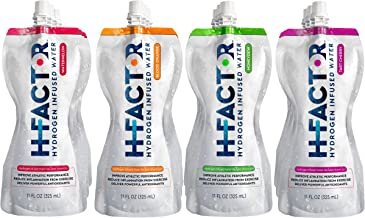 Sponsored Ad - H Factor Flavored Hydrogen Water - Pure Infused Drinking Water for Natural Pre Or Post Workout Recovery, Mo...
