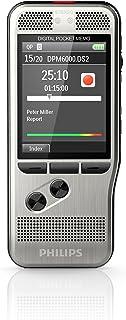 Philips DPM6000 Digitale dicteerapparaat, bediening via drukknopen, 2 microfoons voor extra stereo-opnamen, kleurendisplay...