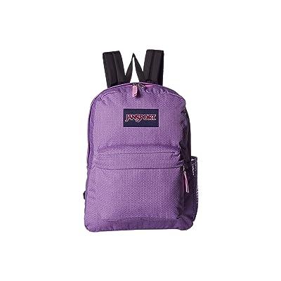 JanSport Hyperbreak (Prism Pink Honey Dobby) Backpack Bags