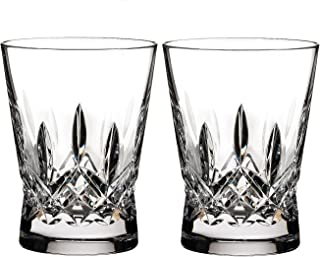 Waterford Lismore Set of 2 Pops Double Old Fashioned Glasses