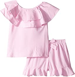 Lia Frounce Top Shorts Set (Toddler/Little Kids)