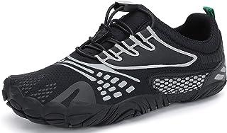 SAGUARO Minimalistas Barefoot Zapatillas de Trail Running Niños Zapatillas de Deporte Transpirables para Exterior Interior