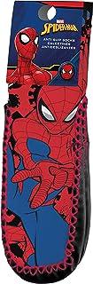 Kids Licensing,   Calcetines Infantiles - Calcetines Diseño Spiderman - Calcetines Antideslizantes - Personajes Marvel - Tejido Transpirables - Elástico en Arco Licencia de Producto Oficial