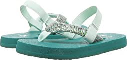 Sanuk Kids Yoga Glitter (Toddler/Little Kid)