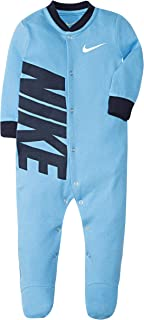 Girls' Baby Graphic Logo Footed Coverall