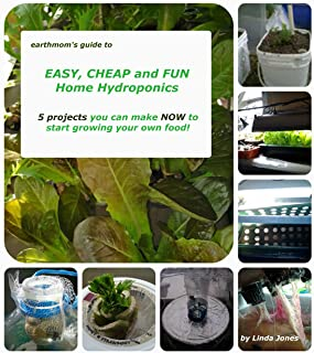 earthmom's Guide to EASY, CHEAP and FUN Home Hydroponics 5 projects you can make NOW to get started growing your own food!