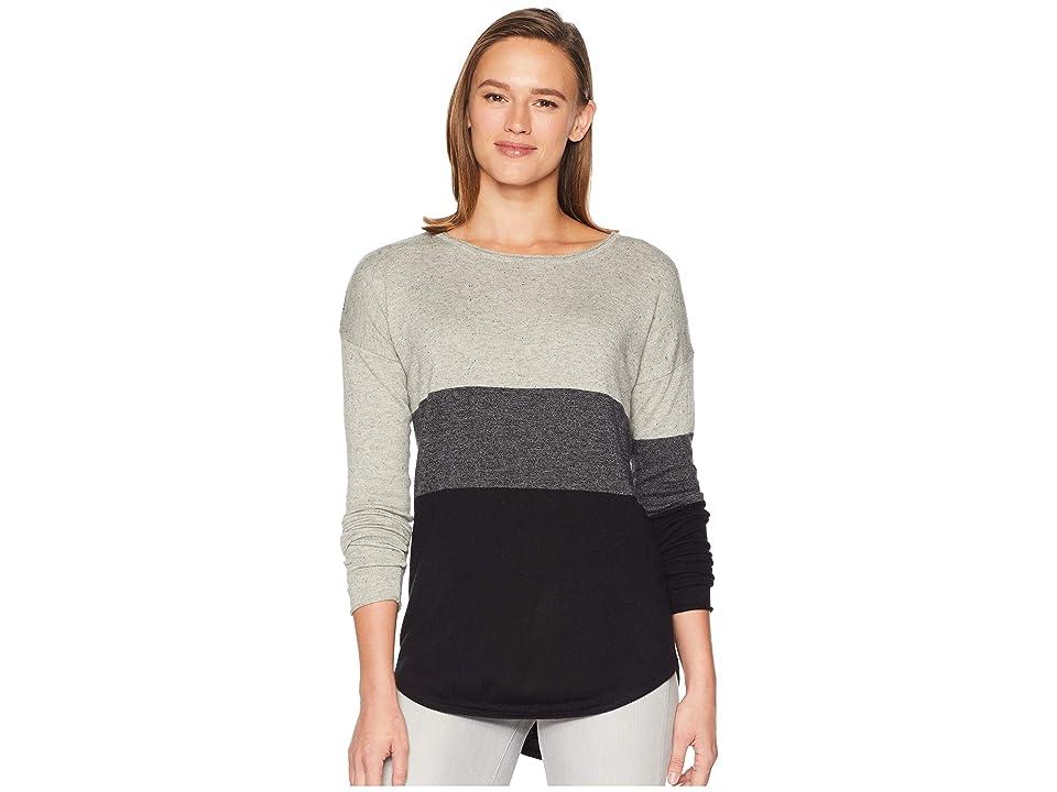 Smartwool Shadow Pine Crew Sweater (Black) Women