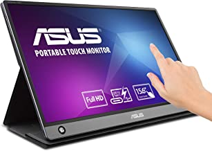 "Asus Zenscreen MB16AMT 15.6"" Full HD Portable Monitor Touch Screen IPS Non-Glare Built-in Battery and Speakers Eye Care US..."